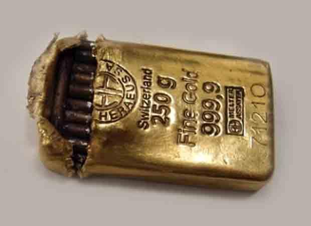 Pančování zlata